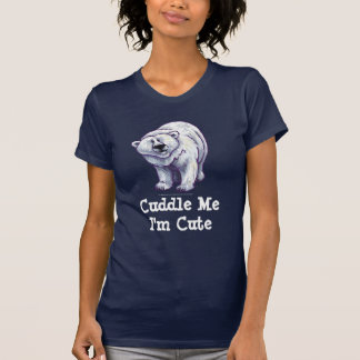 T-shirts d'ours blanc