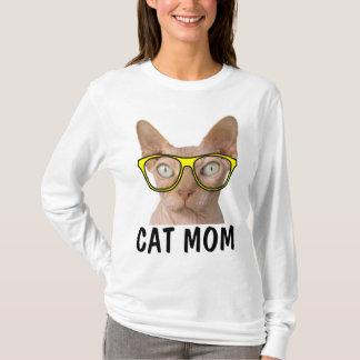 T-shirts drôles de la MAMAN SPHYNX de CAT