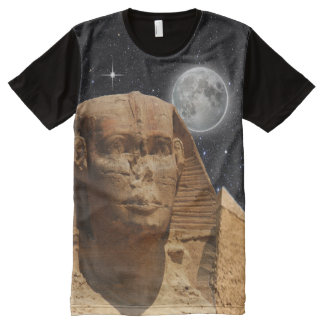 T-shirts égyptiens de sphinx