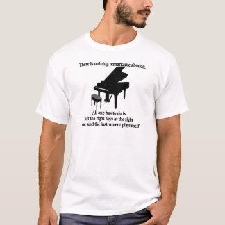 T-shirts et cadeaux de musicien de pianiste