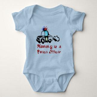 T-shirts et cadeaux de policier de maman