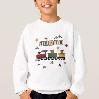 T-shirts et cadeaux de train d'ours de nounours