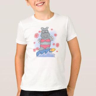 T-shirts et cadeaux surfants d'hippopotame