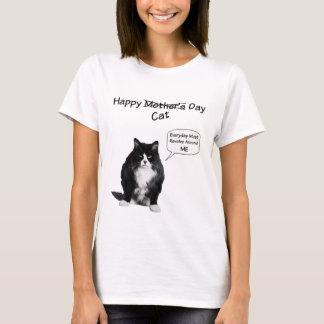 T-shirts grincheux du jour de mère de chat