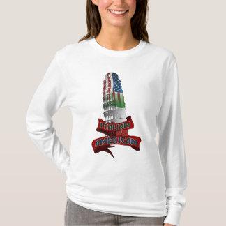 T-shirts italien américain d'ascendance