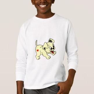 T-shirts Kids'basic Long Sleeve Design Dog