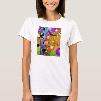 T-shirts léger - ART de POP de TROUS NOIRS de BIG