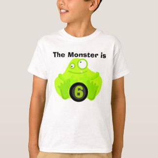 T-shirts personnalisables d'anniversaire de