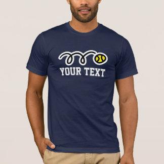 T-shirts personnalisés de tennis pour des femmes