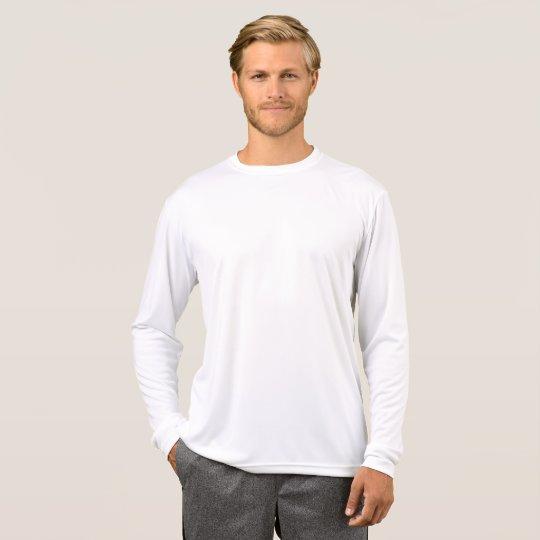 T-shirt à manches longues Sport-Tek Competitor pour homme, Blanc