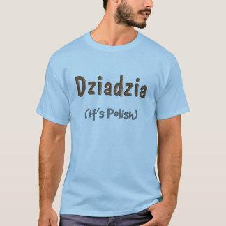 T-shirts première génération polonais Dziadzia il