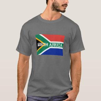 T-shirts sud-africains de drapeau