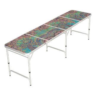 Table Beerpong table de pliage tourbillonnante d'arbre