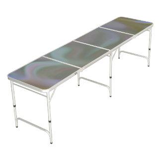 Table Beerpong Tableau de puanteur avec le thème de couleur de