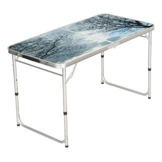 Table Beerpong Tableau de puanteur de taille de porte à