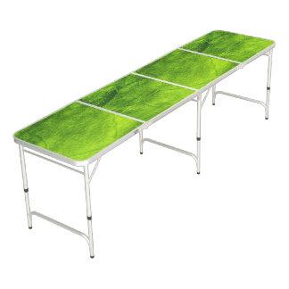 Table Beerpong Texturisé vert
