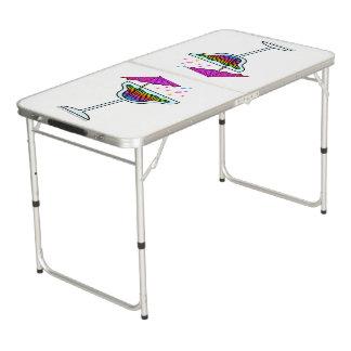 TABLE BEERPONG VERRE DE MARGARITA