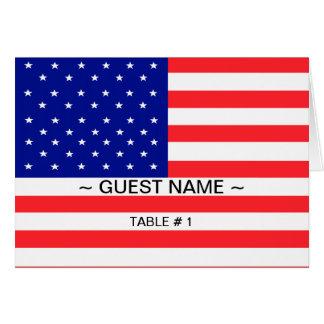 Tableau de drapeau des Etats-Unis # carte