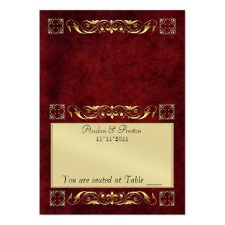 Tableau de pliage de bois de rose d'Emperior Carte De Visite Grand Format