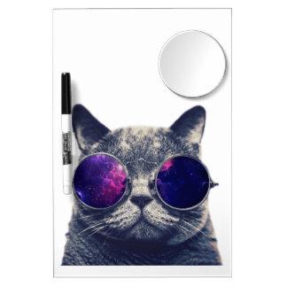 Tableau Effaçable À Sec Avec Mirroir Milieu avec le panneau sec d'effacement de miroir