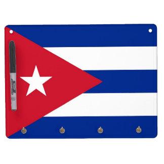 Tableau Effaçable À Sec Avec Porte-clés Séchez le conseil d'effacement avec le drapeau du