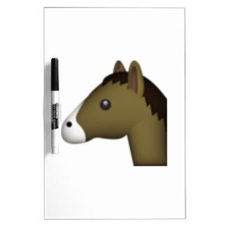 Tableau Effaçable À Sec Cheval - Emoji