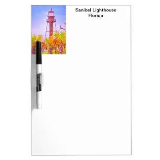 Tableau Effaçable À Sec Collection de phare de Sanibel