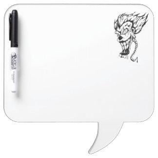 Tableau Effaçable À Sec Conseil sec d'effacement de stylo mauvais de clown