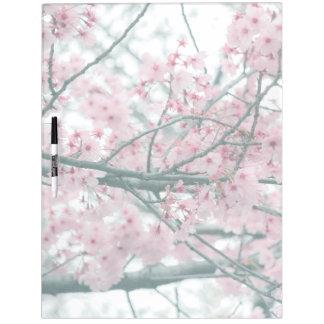 Tableau Effaçable À Sec Festival de Hanami de ressort, fleurs de cerisier