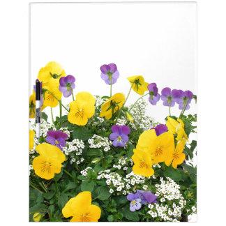 Tableau Effaçable À Sec Le jardin floral de fleurs fleurit photographie