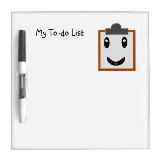 Tableau Effaçable À Sec Ma liste de remue-ménage
