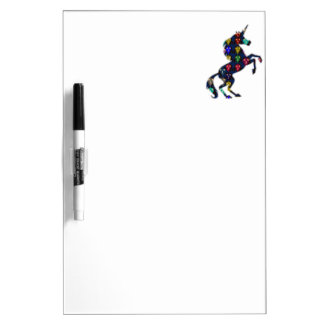 Tableau Effaçable À Sec navinJOSHI peint NVN100 de conte de fées de cheval