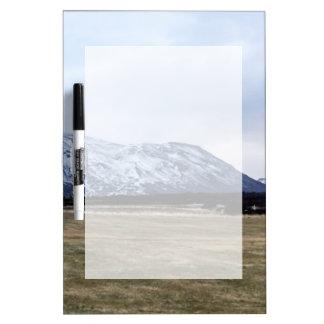 Tableau Effaçable À Sec Paysage de montagne en Islande