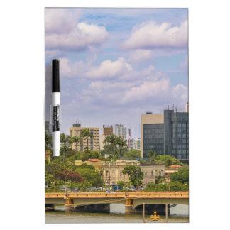 Tableau Effaçable À Sec Paysage urbain de Recife, Pernambuco Brésil