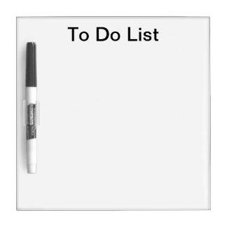 Tableau Effaçable À Sec Pour faire le panneau sec de liste