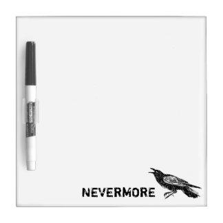 Tableau Effaçable À Sec Raven, noir et blanc