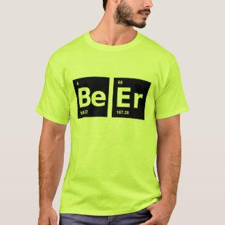 Tableau périodique de bière t-shirt