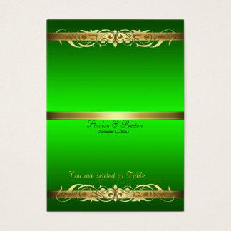 Tableau Placecard de rouleau de Grande -Duchesse Cartes De Visite