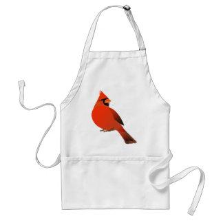 Tablier #3 cardinal