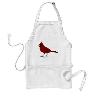 Tablier #4 cardinal