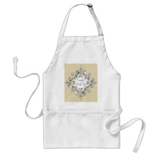 Tablier Apron_Family Chef_Ornate-Name_Template