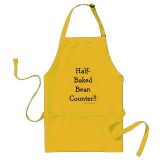 Tablier BeanCounter à moitié cuit ! ! Nom drôle de