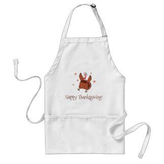 Tablier Bon thanksgiving Turquie drôle