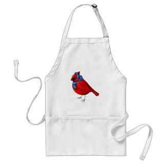 Tablier Cardinal d'hiver