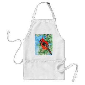Tablier Cardinal rouge Art2