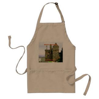 Tablier Château de Carsluith -- Clan Broun/Brown