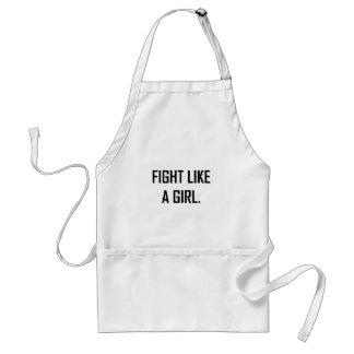 Tablier Combat comme une fille