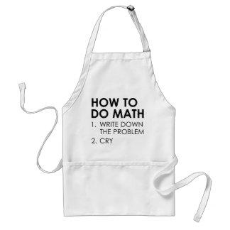 Tablier Comment faire des maths
