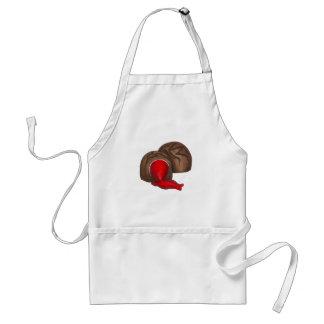 Tablier cordial de sucrerie de Valentine de cerise