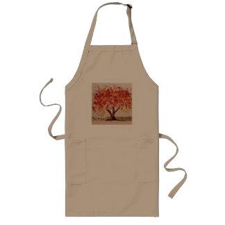Tablier d'arbre d'automne